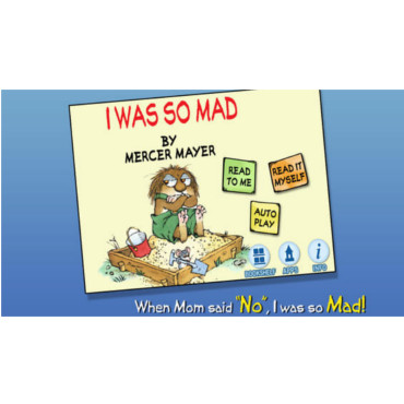 I Was So Mad – Little Critter