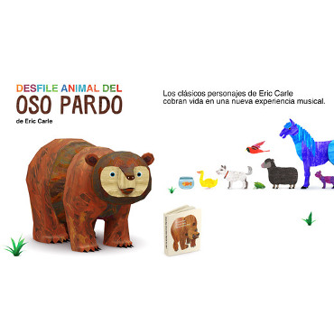 Desfile animal del oso pardo – AppTK