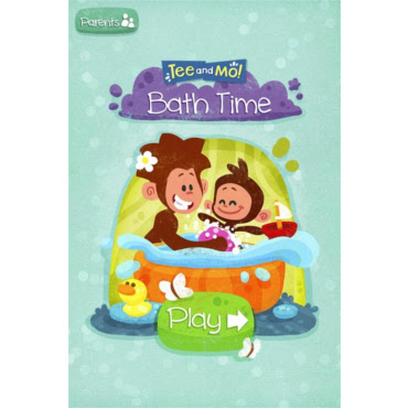 Tee and Mo Bath Time