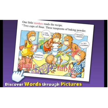 Pleasing Five Little Monkeys Bake A Birthday Cake Apptk Personalised Birthday Cards Vishlily Jamesorg