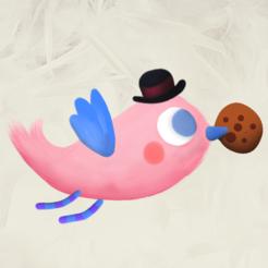 pajaro-rosa-logo